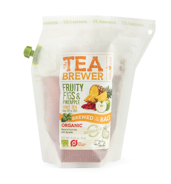 TeaBrewer Fruity Figs & Pineapple - Fruit Tea