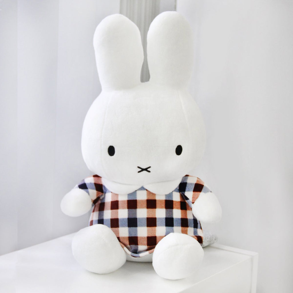 Miffy Plush - Plaid
