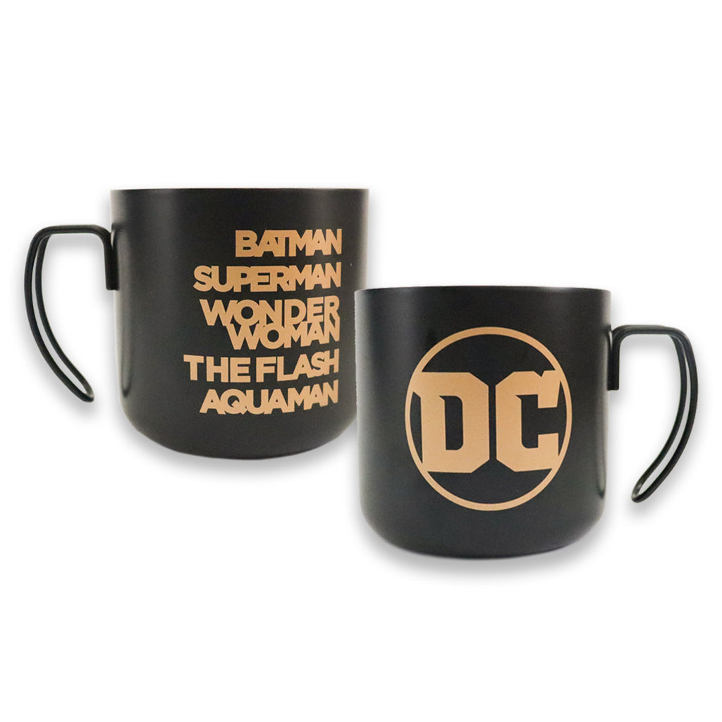 Justice League thermal coffee mug