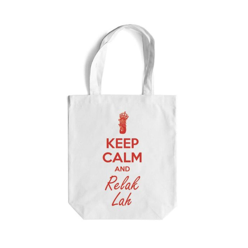 Keep Calm Canvas Bag