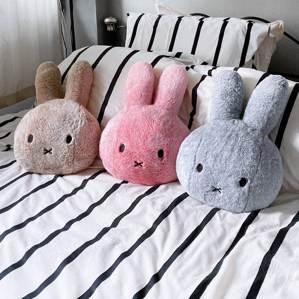 Miffy Head Cushion - Fluffy