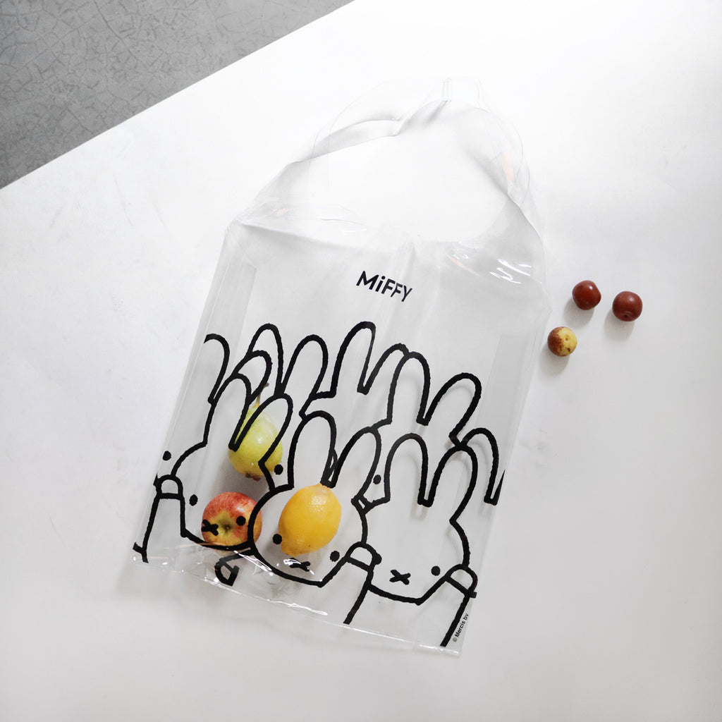 Miffy Transparent PVC Bag