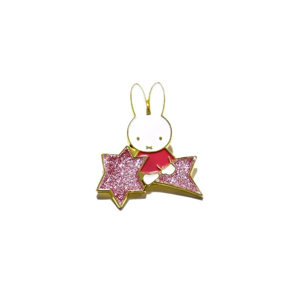 Miffy Pin - Glittery Star