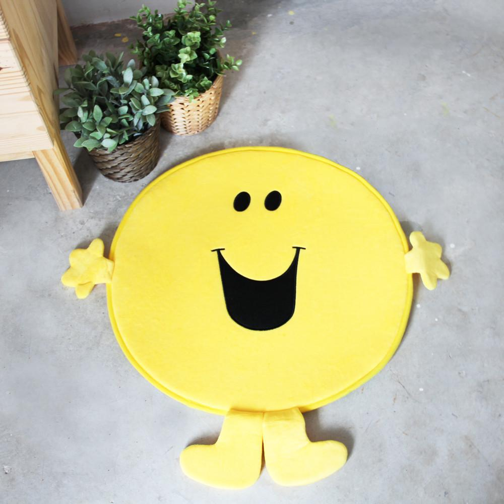 Mr Happy Bath Rug