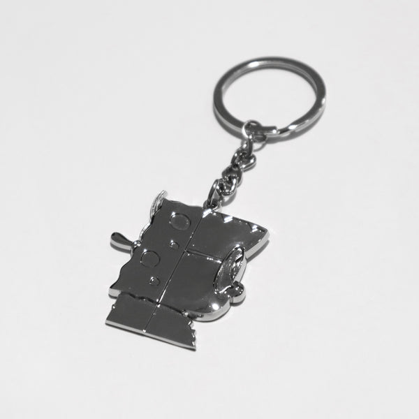 Mr Kiasu x Spongebob Squarepants Casted Keychain