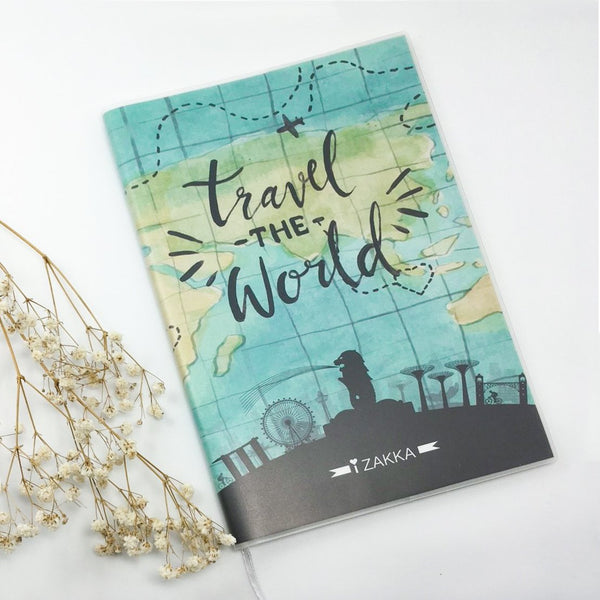 Izakka Notebook Travel The World