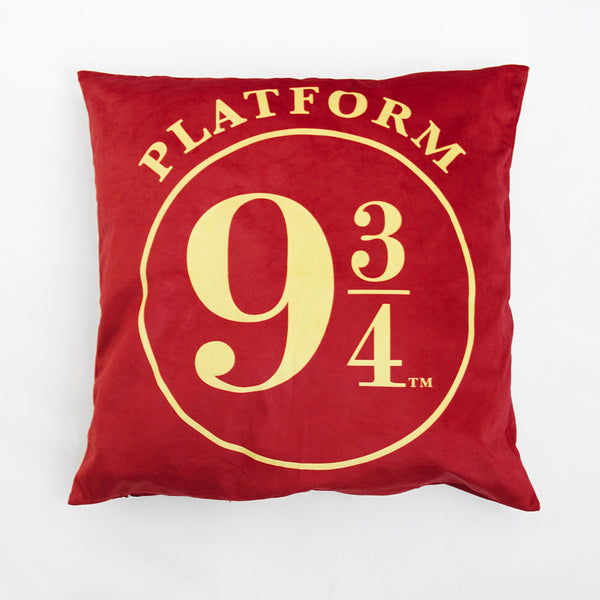 Harry Potter Platform Velvet Cushion Cover