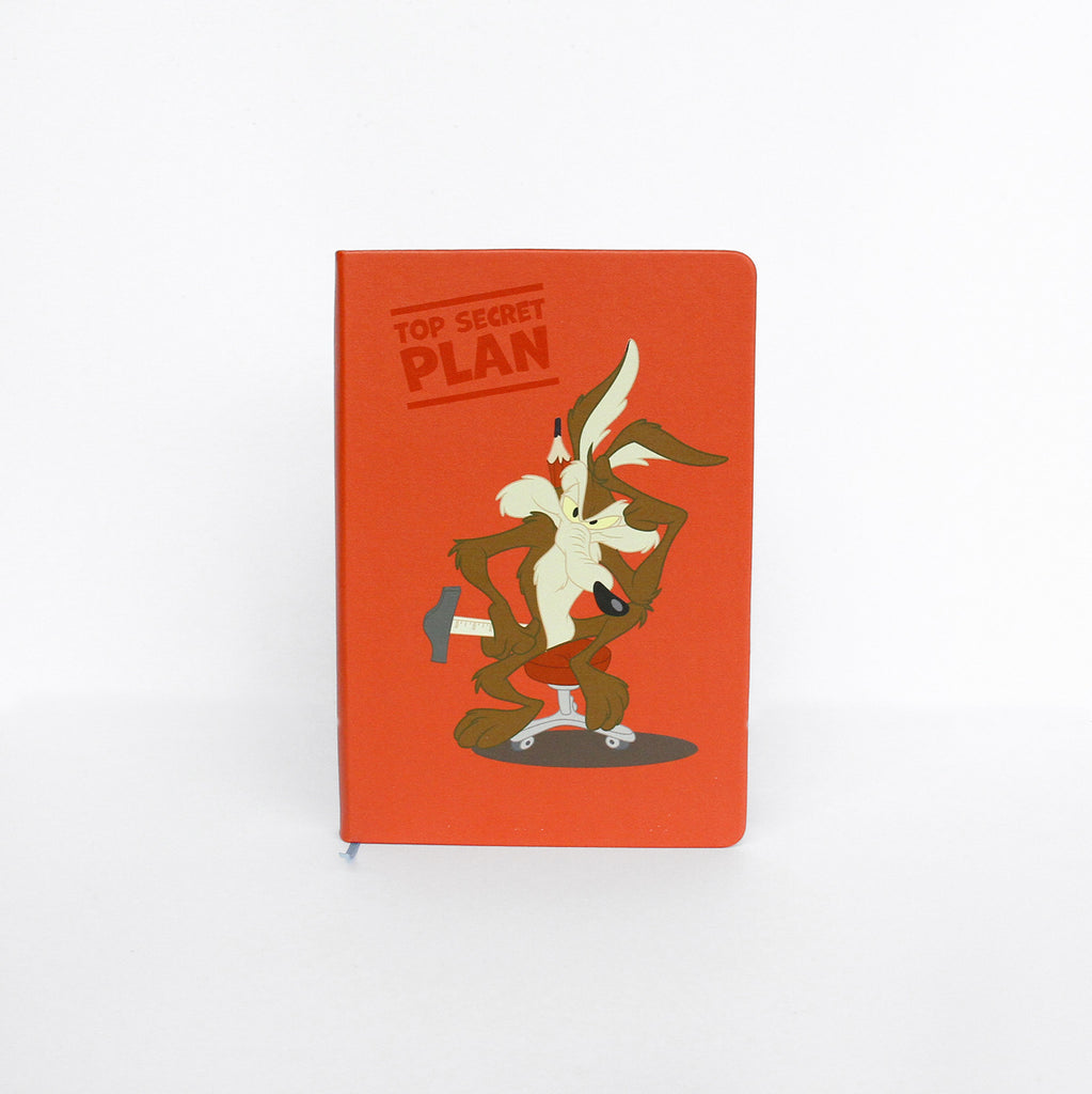 Looney Tunes Notebook: Secret Plan