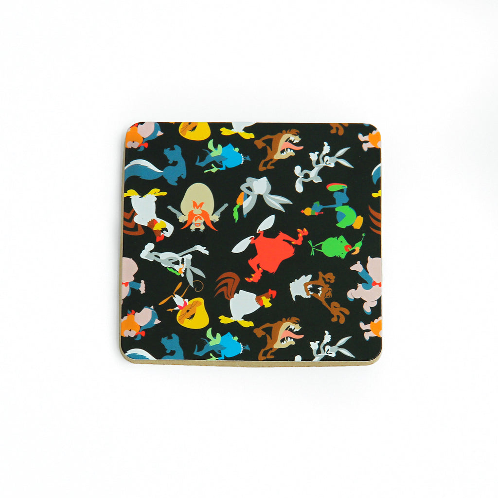 Looney Tunes Faceless Cork Coaster