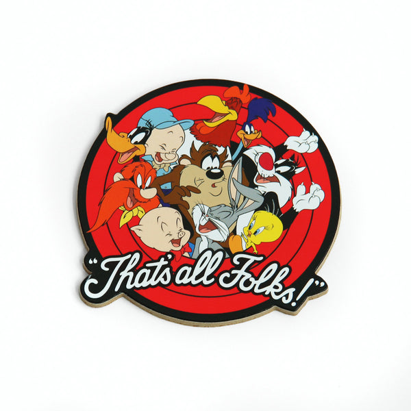 Looney Tunes Thats All Folks Coaster