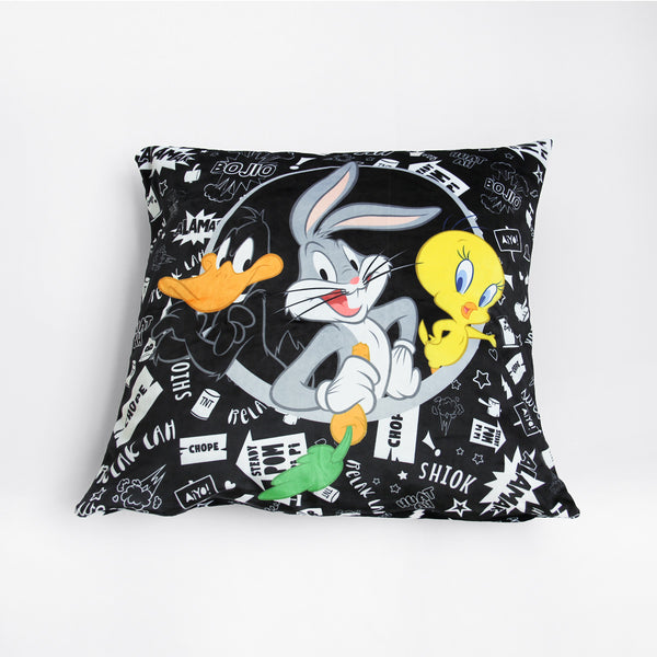 Looney Tunes Singlish Cushion Cover