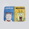 Mr Kiasu x Spongebob Squarepants Doormat