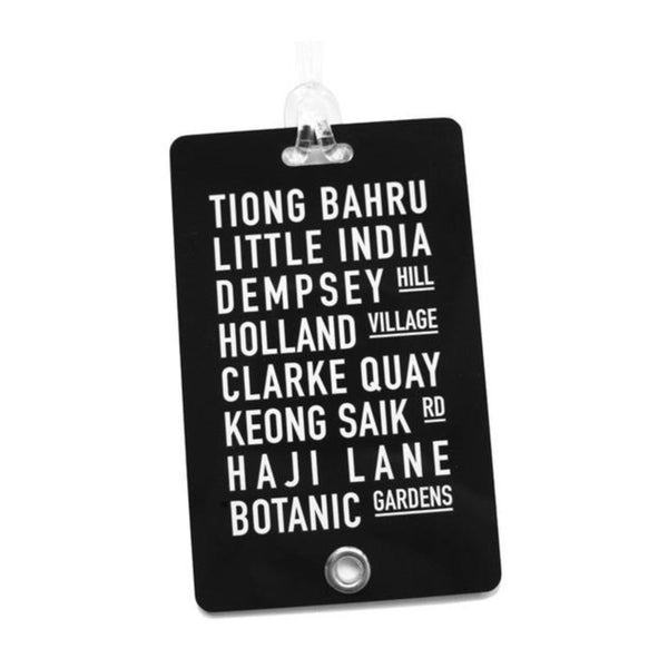 Streets Luggage Tags
