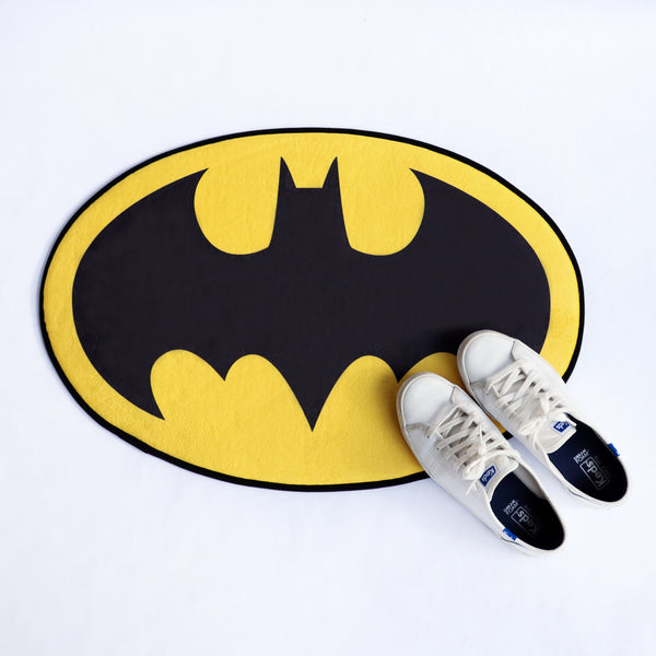 Batman logo doormat