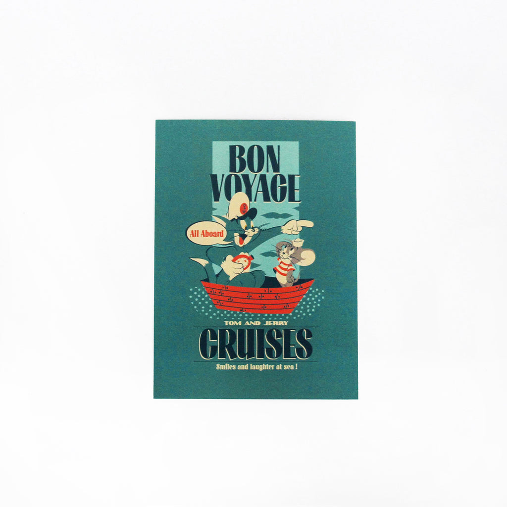 Tom And Jerry Bon Voyage Cards