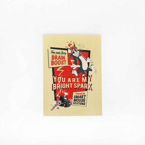 Tom And Jerry Bright Spark Cards