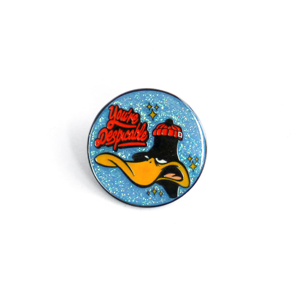 Looney Tunes Despicable Daffy Pin (Glitter)