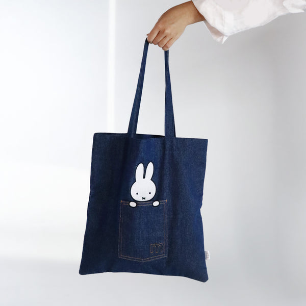Miffy Denim Tote Bag