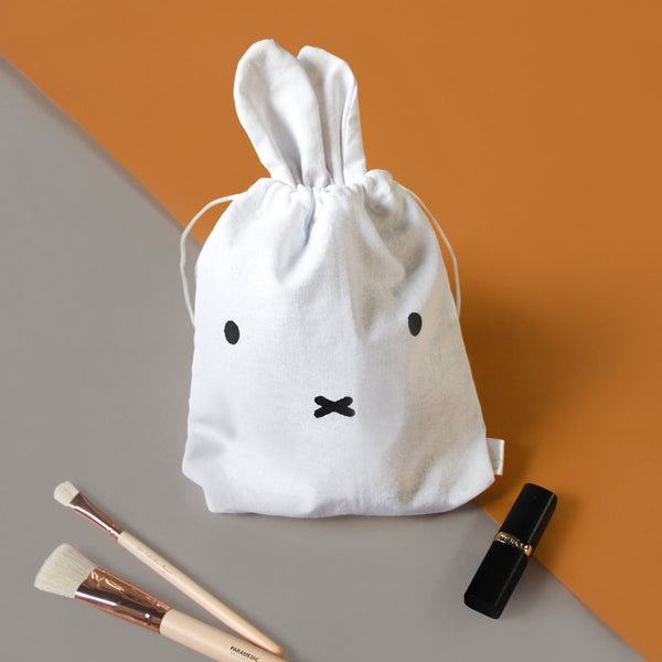 Miffy Drawstring Bag Face