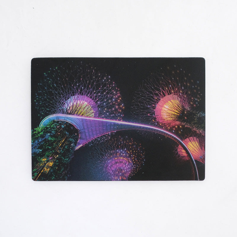 Supertree Grove, Gardens by The Bay Lenticular Postcard