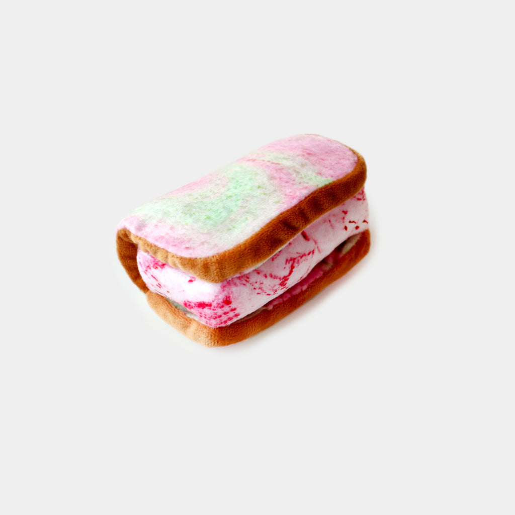 Ice Cream Sandwich Pet Chew Toy