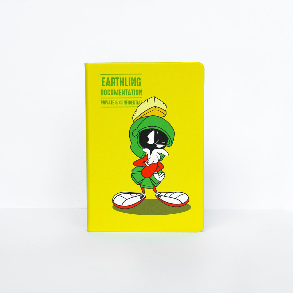 Looney Tunes Notebook: Marvin Earthling Documentation
