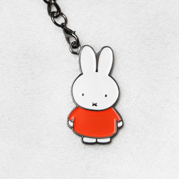 Miffy Badge Keychain - Orange