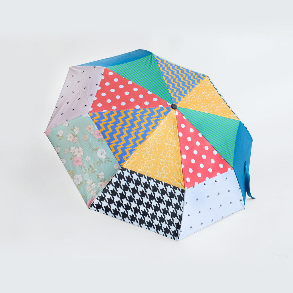 Foldable Patchwork Umbrella