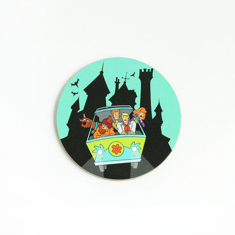 Scooby Doo Gang Cork Coaster
