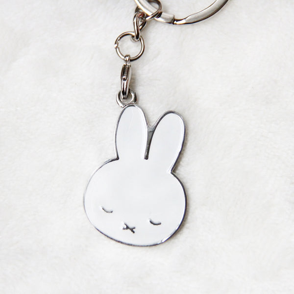 Miffy Badge Keychain - Sleepy