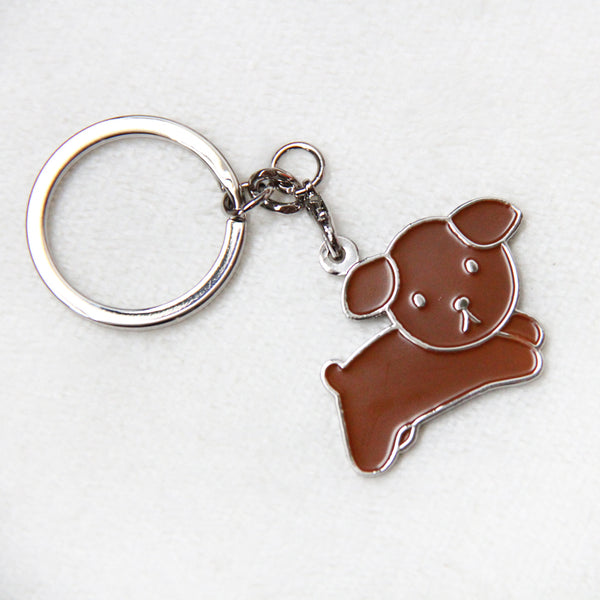 Miffy Badge Keychain - Snuffy