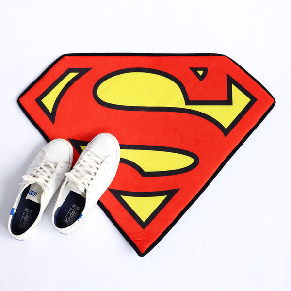 Superman logo doormat