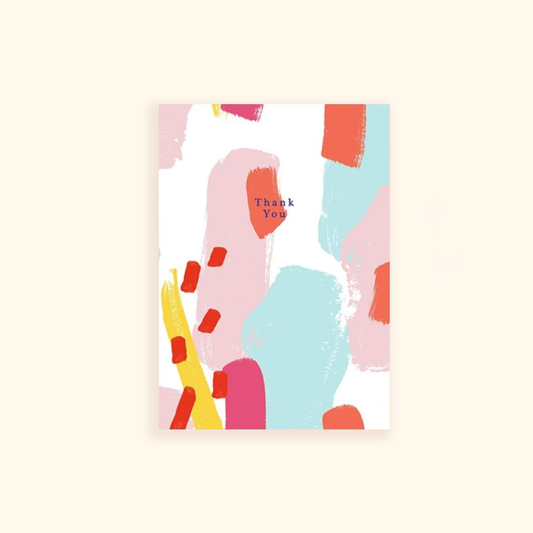 Thank you(abstract 1) Card
