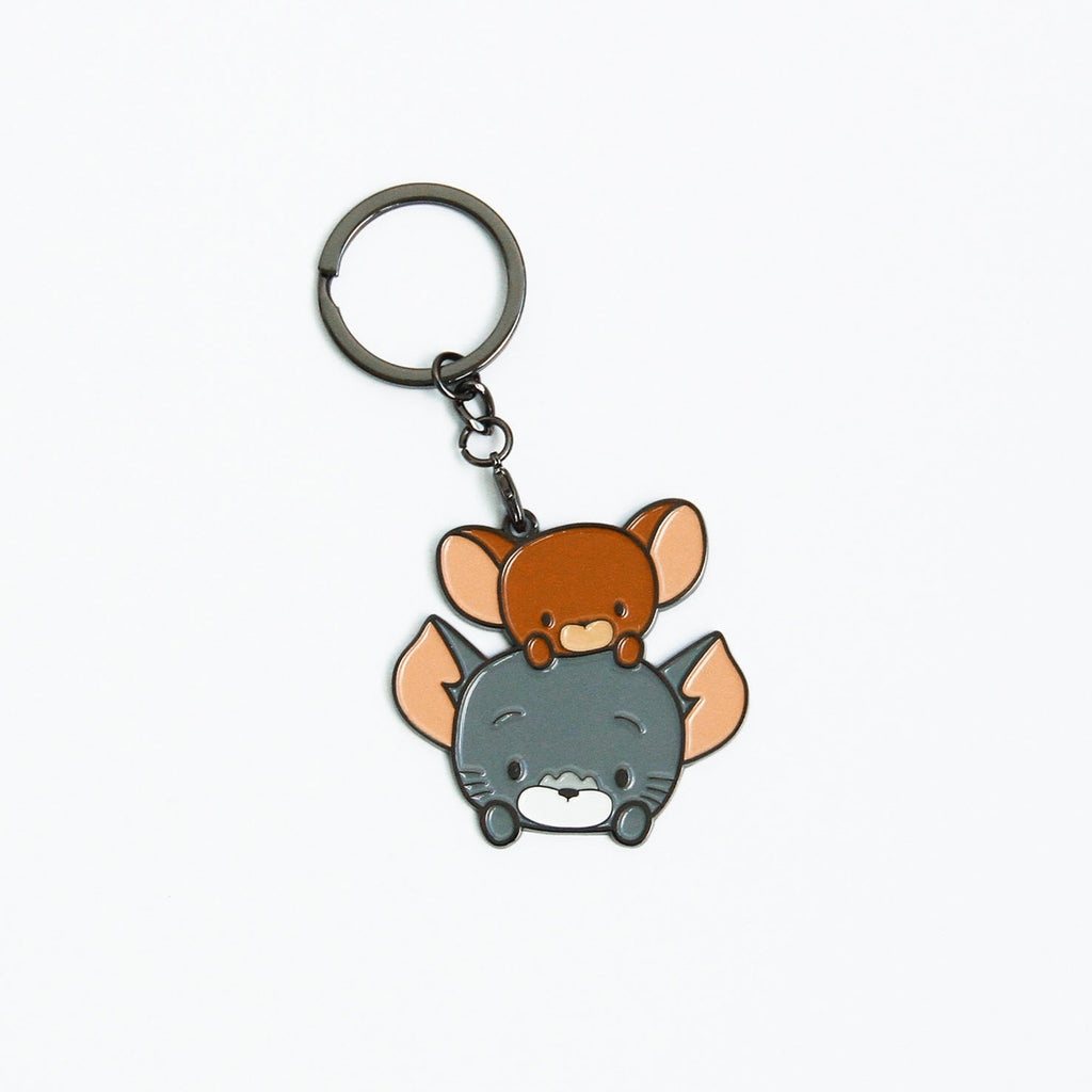 Tom And Jerry Chibi Keychain