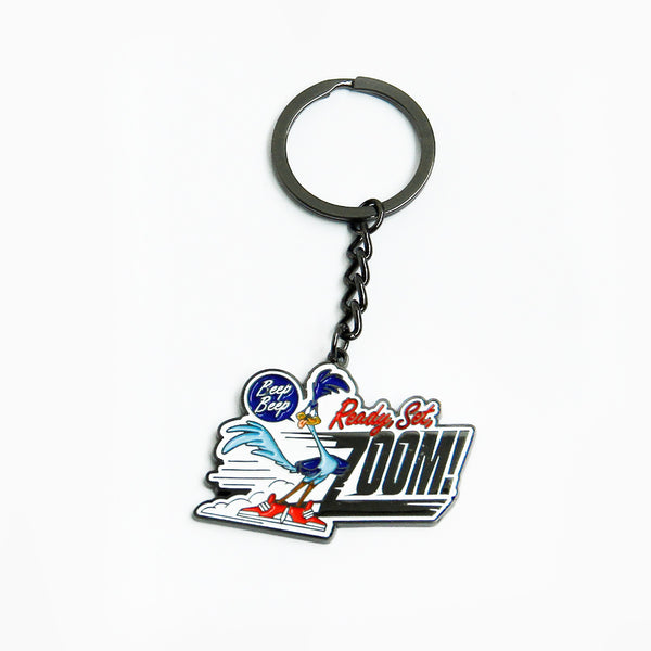 Looney Tunes Zoom Road Runner Keychain