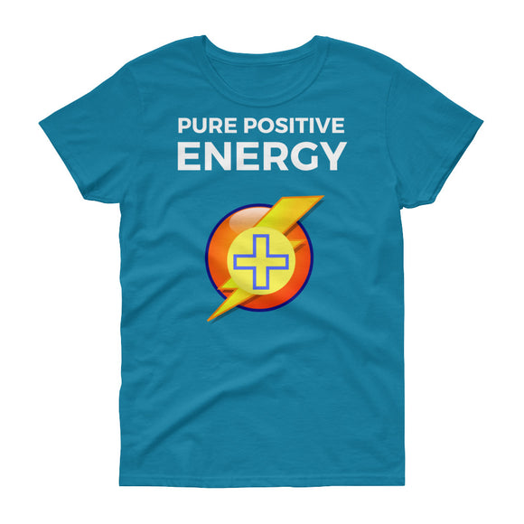Pure Positive Energy - Positive Law of Attraction Women's short sleeve t-shirt