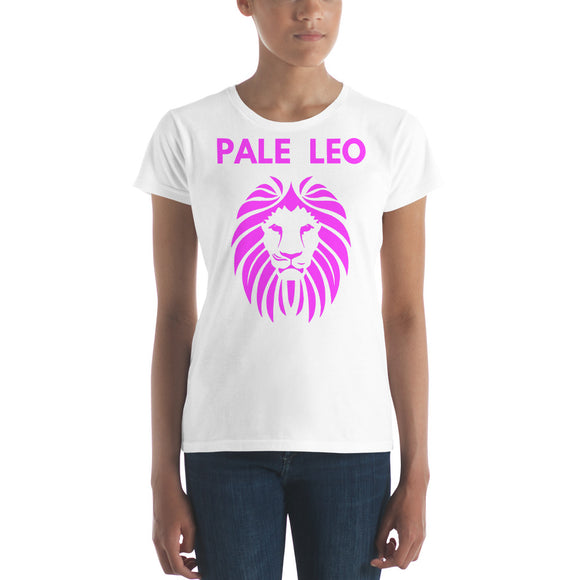 PALE LEO - Funny Paleo Women's short sleeve t-shirt