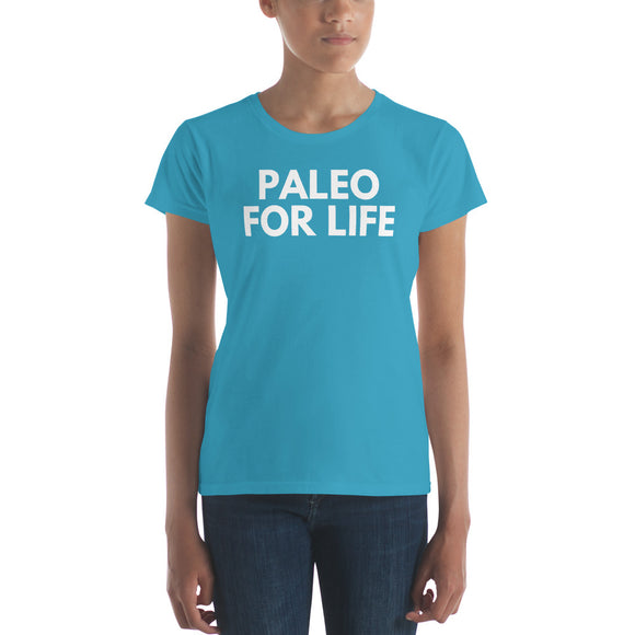 PALEO FOR LIFE Women's Keto Short Sleeve T-Shirt