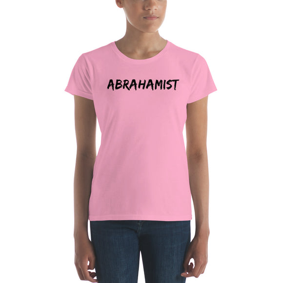 Abrahamist - Law of Attraction Abraham-Hicks Inspired Women's short sleeve t-shirt