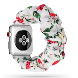 Bandas scrunchie del Apple Watch