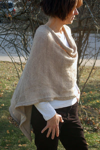 poncho to knit