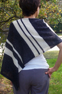 knitting pattern for poncho