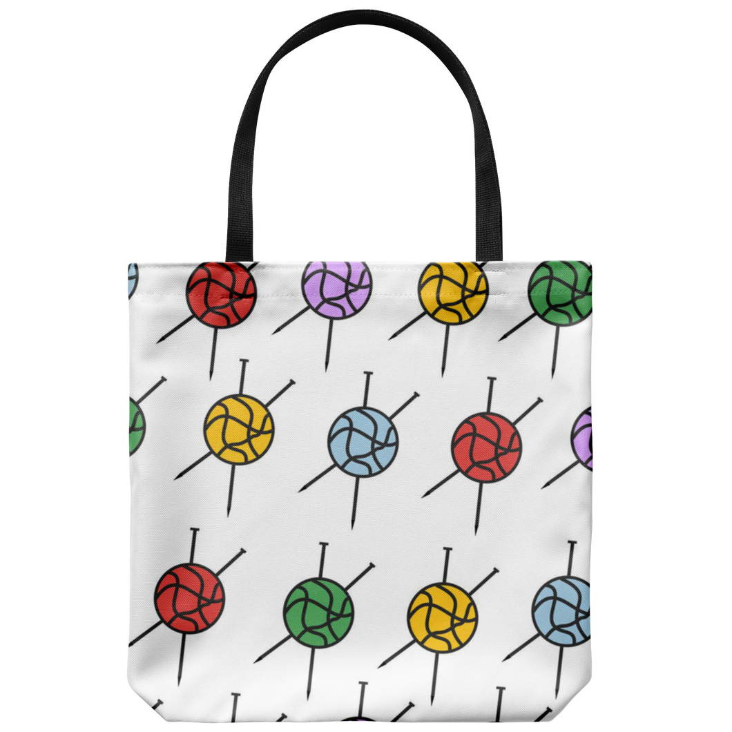 Knitting Tote Bag