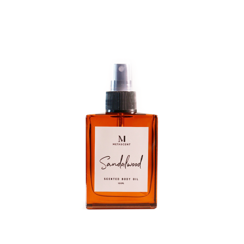 SANDALWOOD - SCENTED BODY OIL