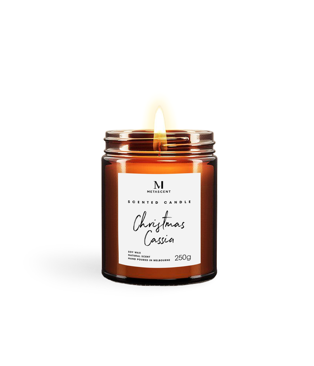 CHRISTMAS CASSIA SCENTED CANDLE