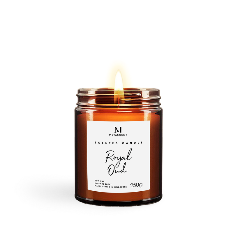 ROYAL OUD - SCENTED CANDLE