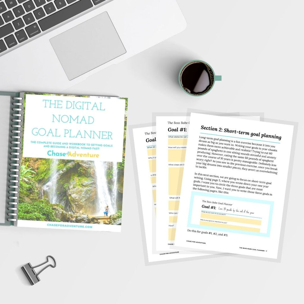 The Digital Nomad Goal Planner