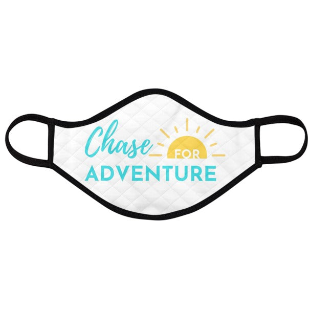 Chase for Adventure Travel Mask (White)