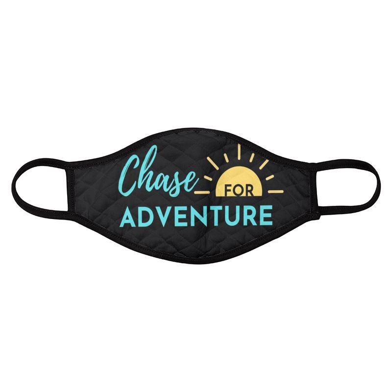 Chase for Adventure Face Mask on the Chase for Adventure Shop