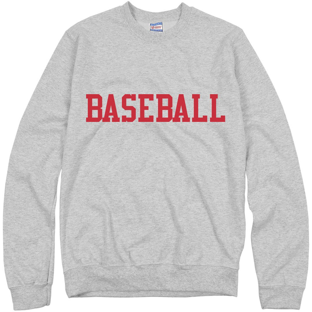Ironic Baseball Sweatshirt